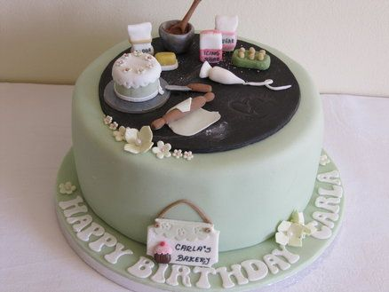 Cake Baker S Cake Baker Cake Crazy Cakes Cake
