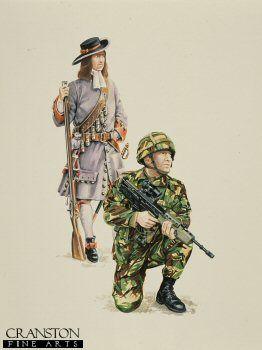The Royal Irish Regiment by David Pentland.