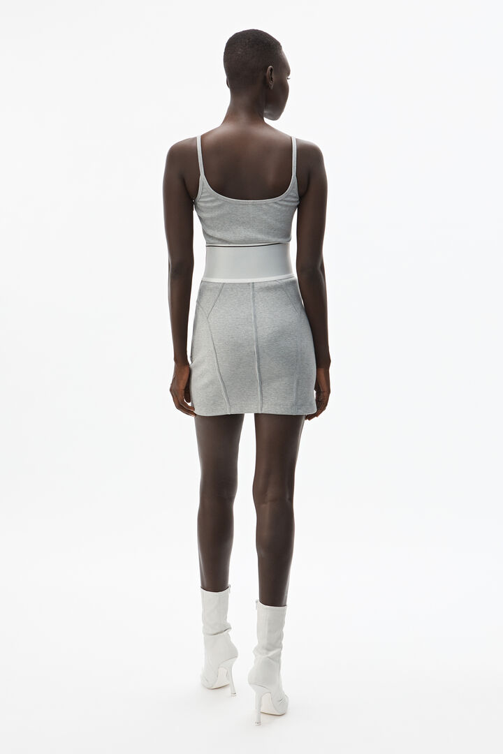 Alexanderwang Logo Elastic Mini Dress In 2020 Mini Dress Fashion Women Oxford Shoes