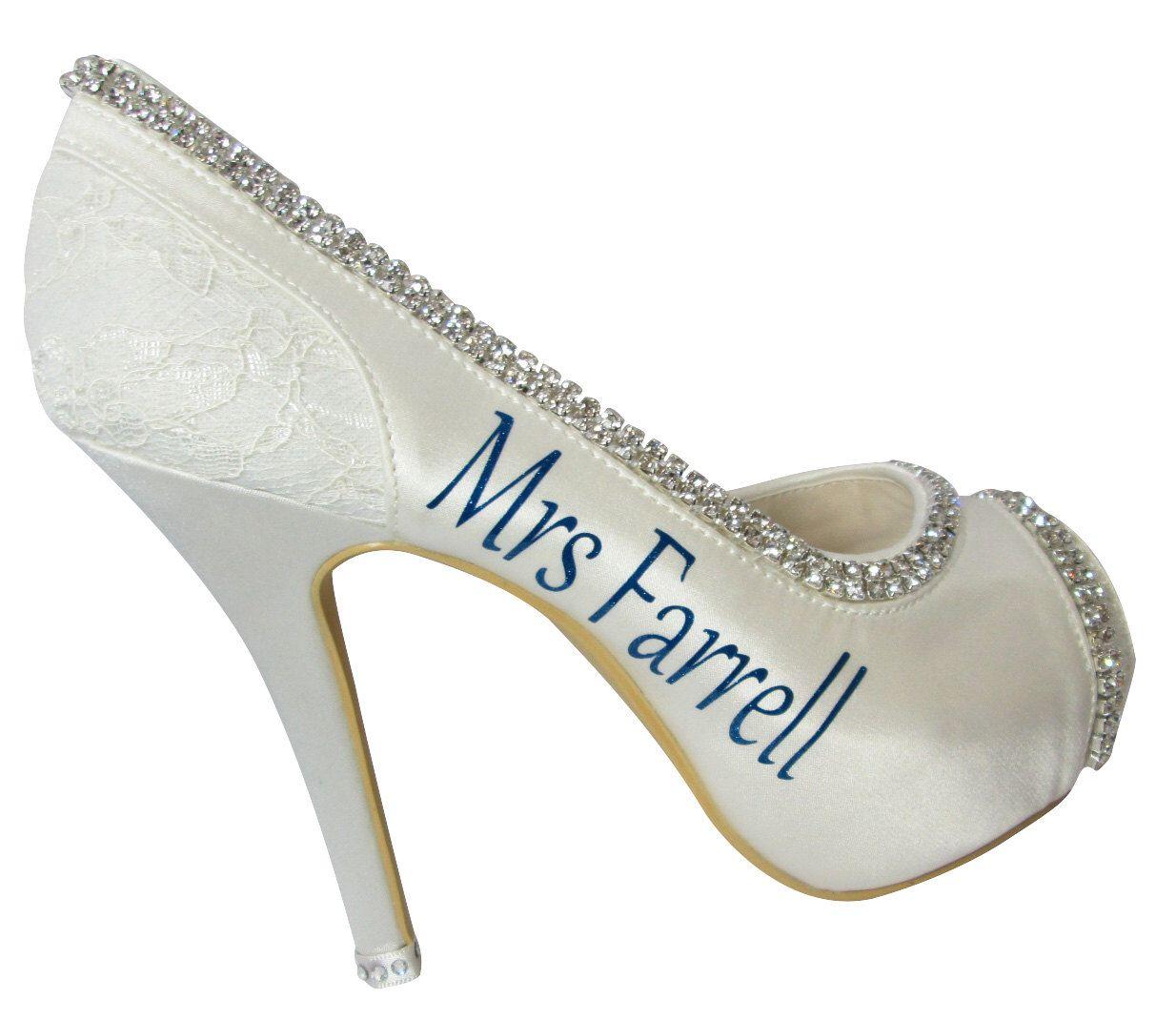 6a1146f39941 Name   Wedding Date High Bridal Heels - 4.5 inch