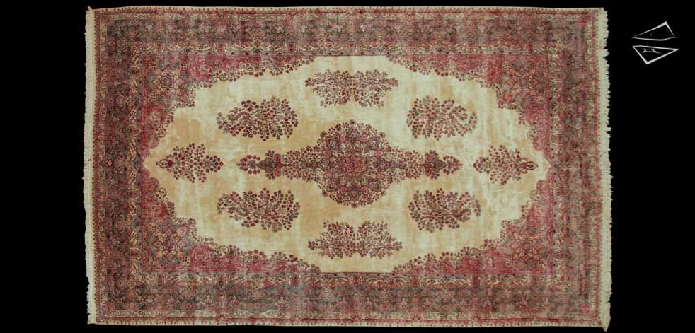 Persian Cyrus Crown® Kerman Oversize Carpet 12′ 4″ X 19′ 5″