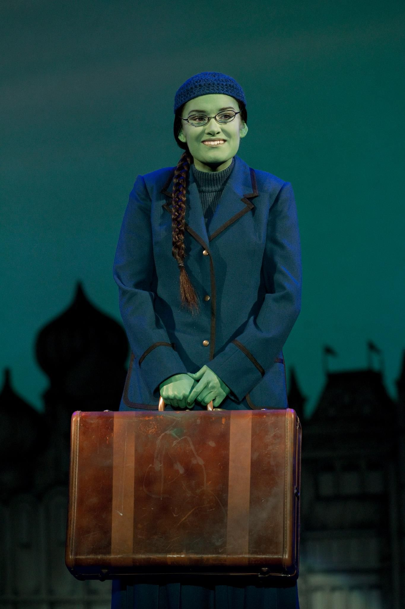Elphaba Ballroom Costume from Wicked the Musical | Wicked Costume ...