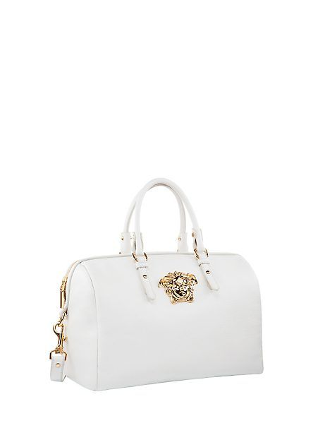 e527a637a7 versace palazzo white bag - Google Search | Leather | Versace bag ...