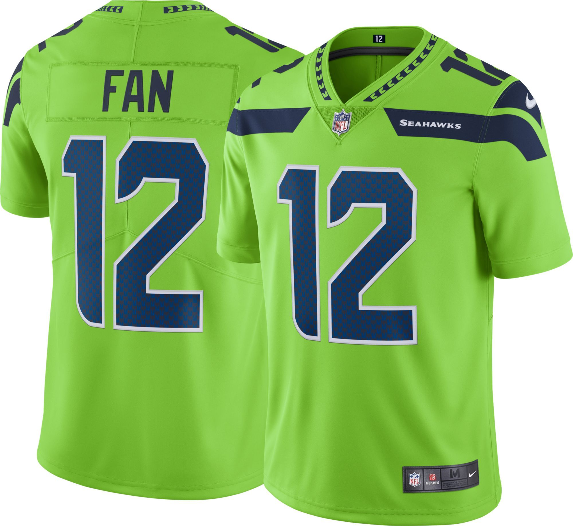 cba5a1f5 Nike Men's Color Rush Limited Jersey Seattle Seahawks 12th Fan #12 ...