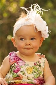 Baby by Persnickety Clothing - White Blossoms Headband