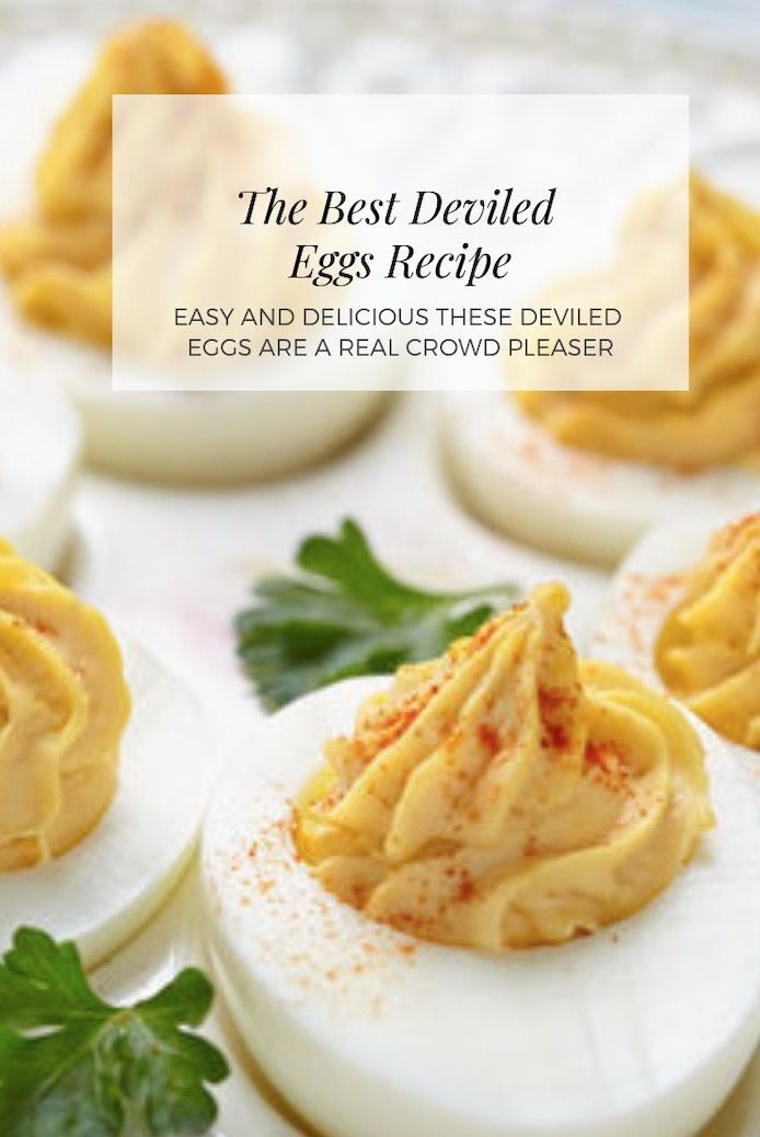 Photo of Deviled Eggs Best Recipe Ever Video | The WHOot