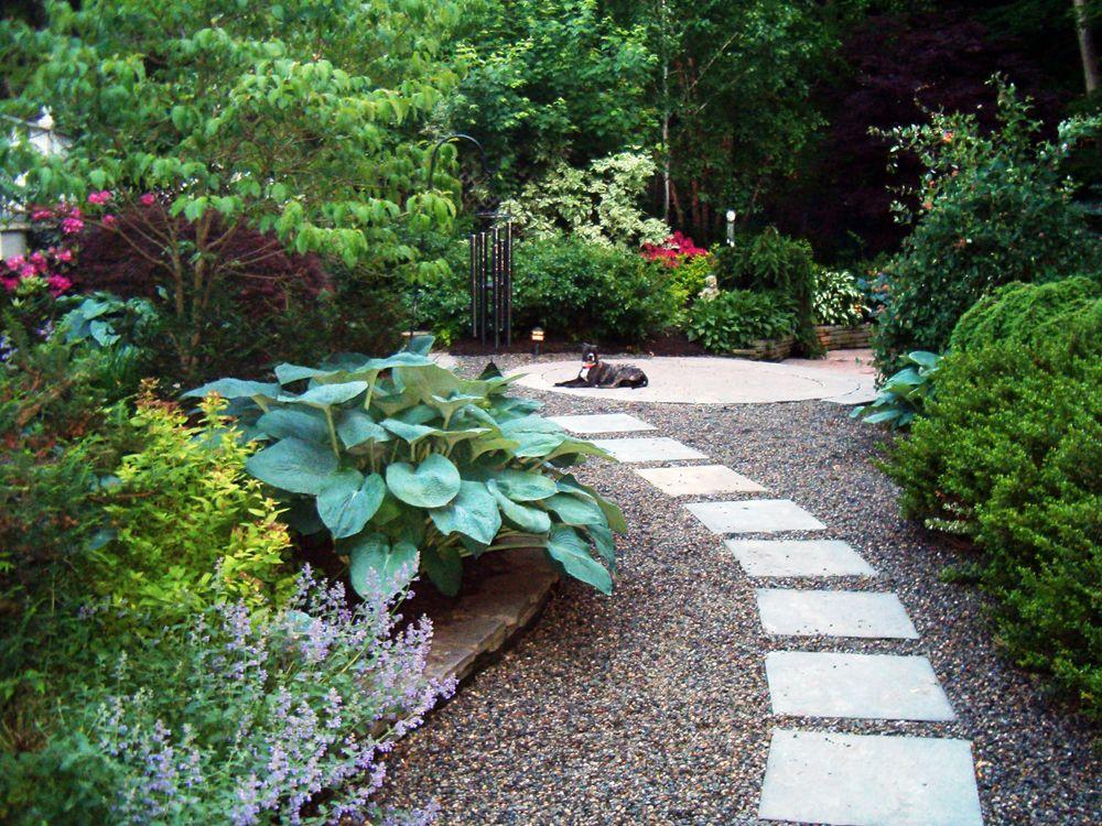 Backyard Pathways Designs 12 beautiful diy garden walkway designs Bridgewater Nj Backyard Home To One Of Parker Homescapes Talented Landscape Designers This