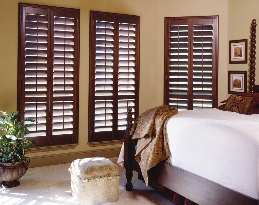 Pin by Ali C on Bedroom Wooden window shutters, Wooden