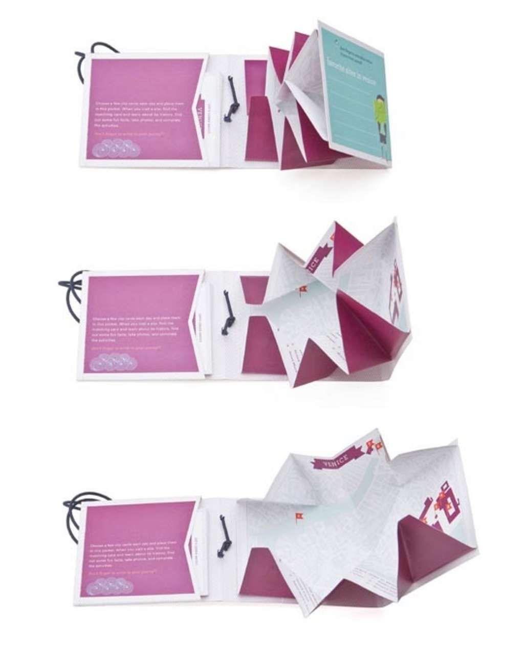Zigzag Guides City Travel Guides For Kids Book Design Brochure Design Book Folding