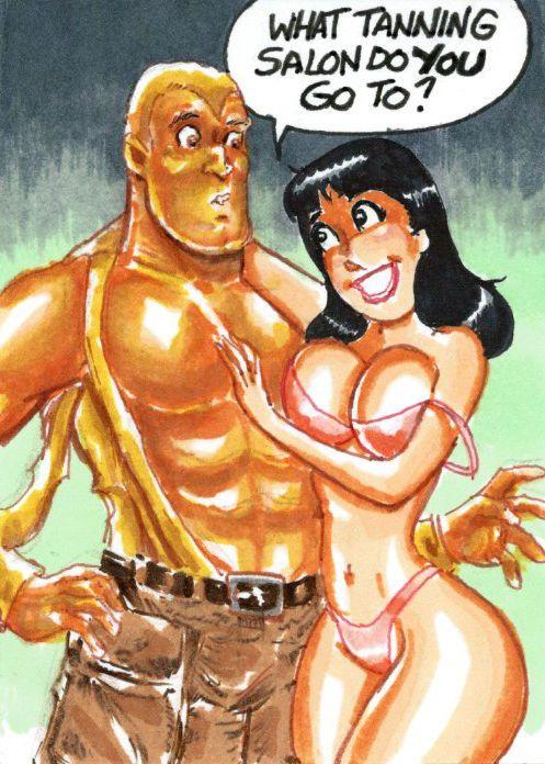 Doc Savage Man of Tan - Sketch Card