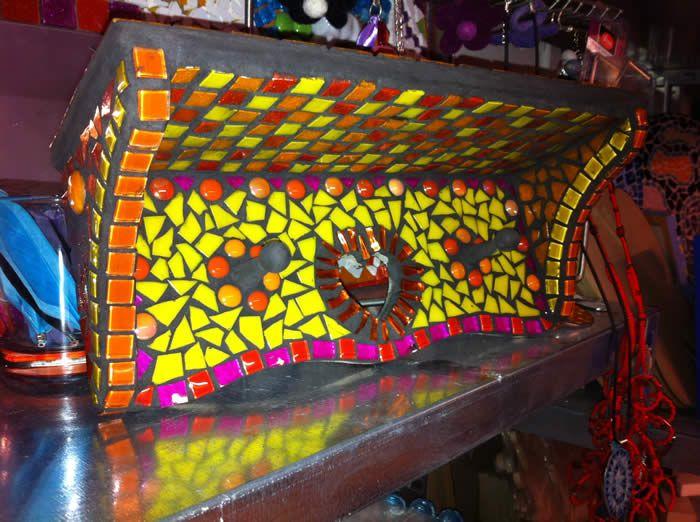 Mozaiek workshop bij Expres-zo workshops in utrecht