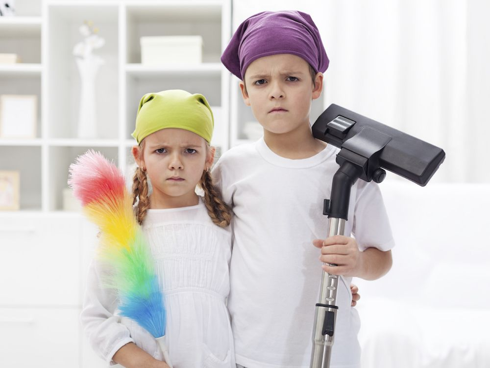 This list of 'Age Appropriate chores for children' will either inspire you or have you laughing maniacally.