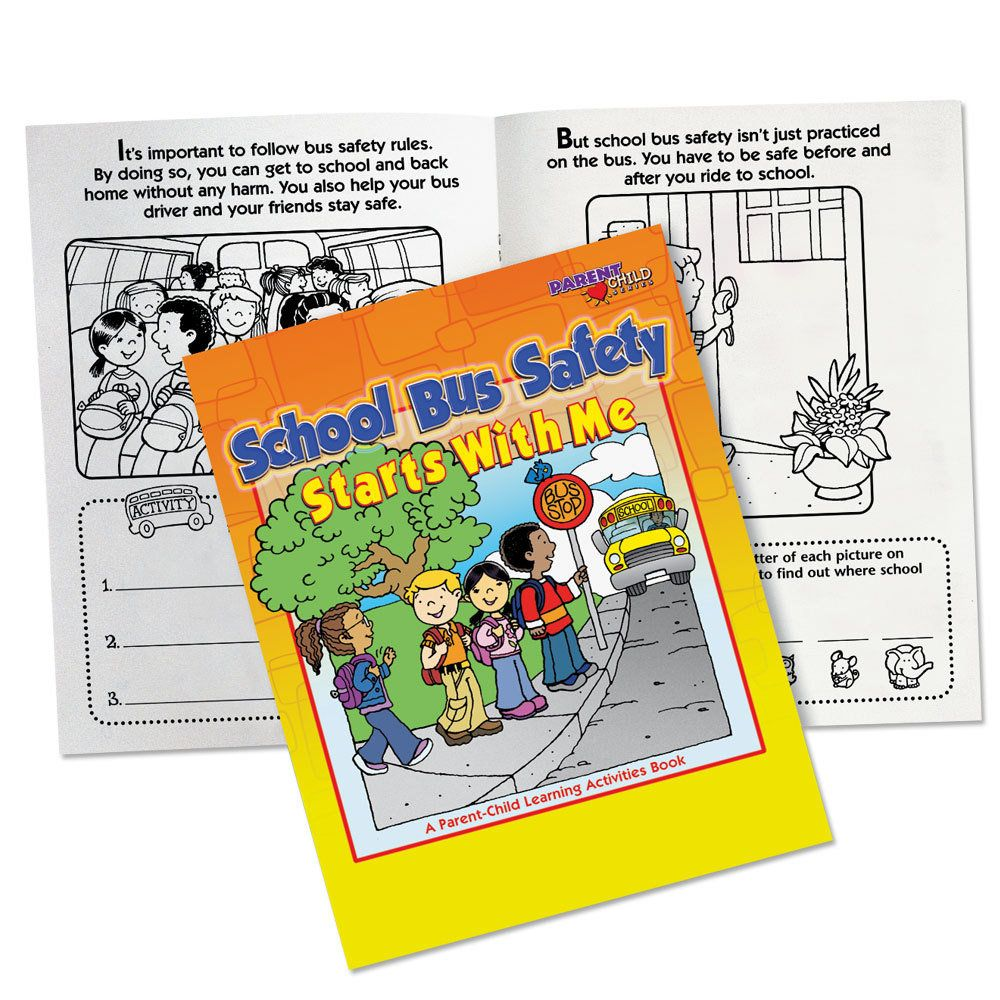 School Bus Safety Starts With Me ParentChild Learning
