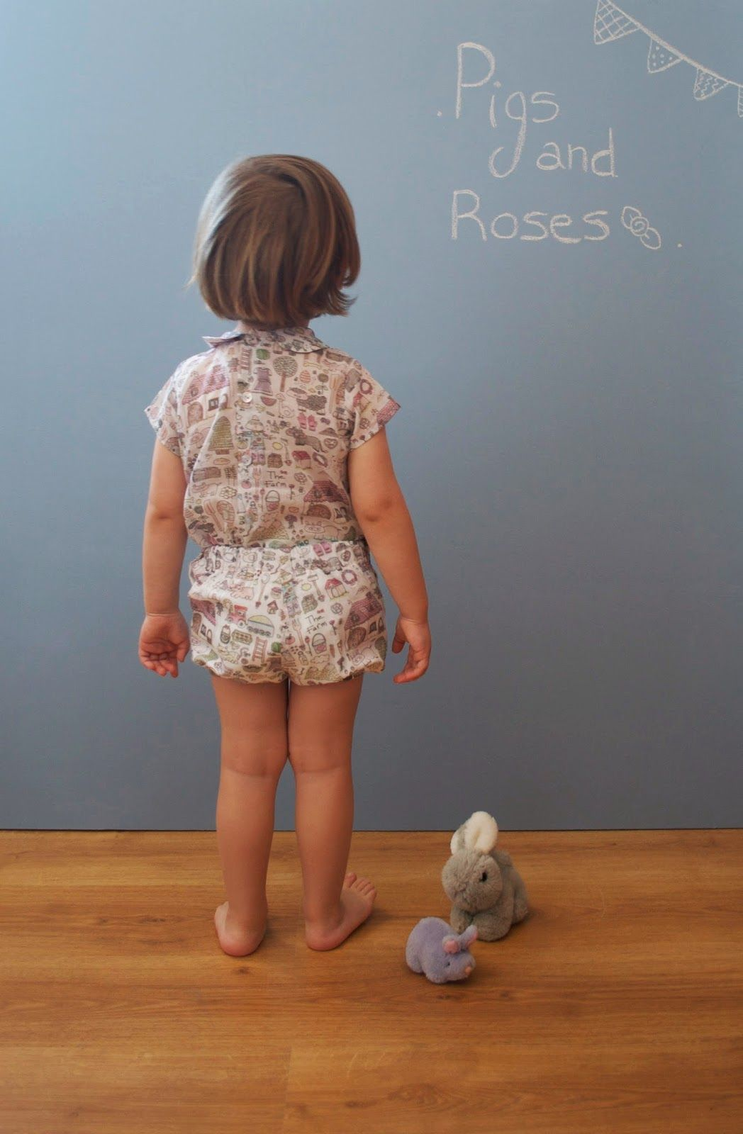 Pigs & Roses. The Farm. Clothes kids. Wear Childrens.