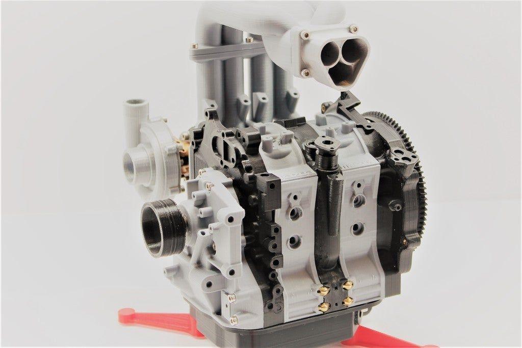 Mazda Rx7 Wankel Rotary Engine 13b Rew Working Model By Ericthepoolboy Thingiverse Wankel Engine Mazda Rx7 Rx7