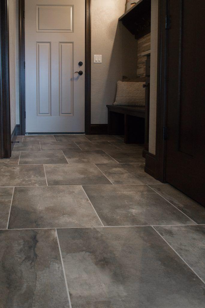 Flooring Tile Elements 18x18 Amber Grout Sahara Beige Tile Floor Basement Flooring Basement Flooring Waterproof