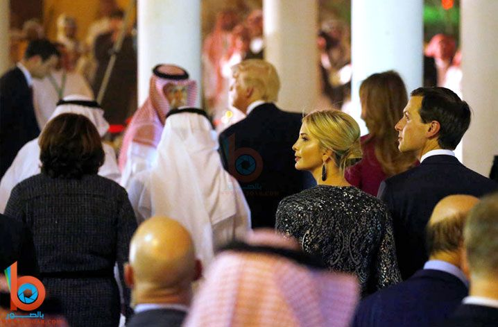 صور افيانكا ترمب مع زوجها بالسعودية