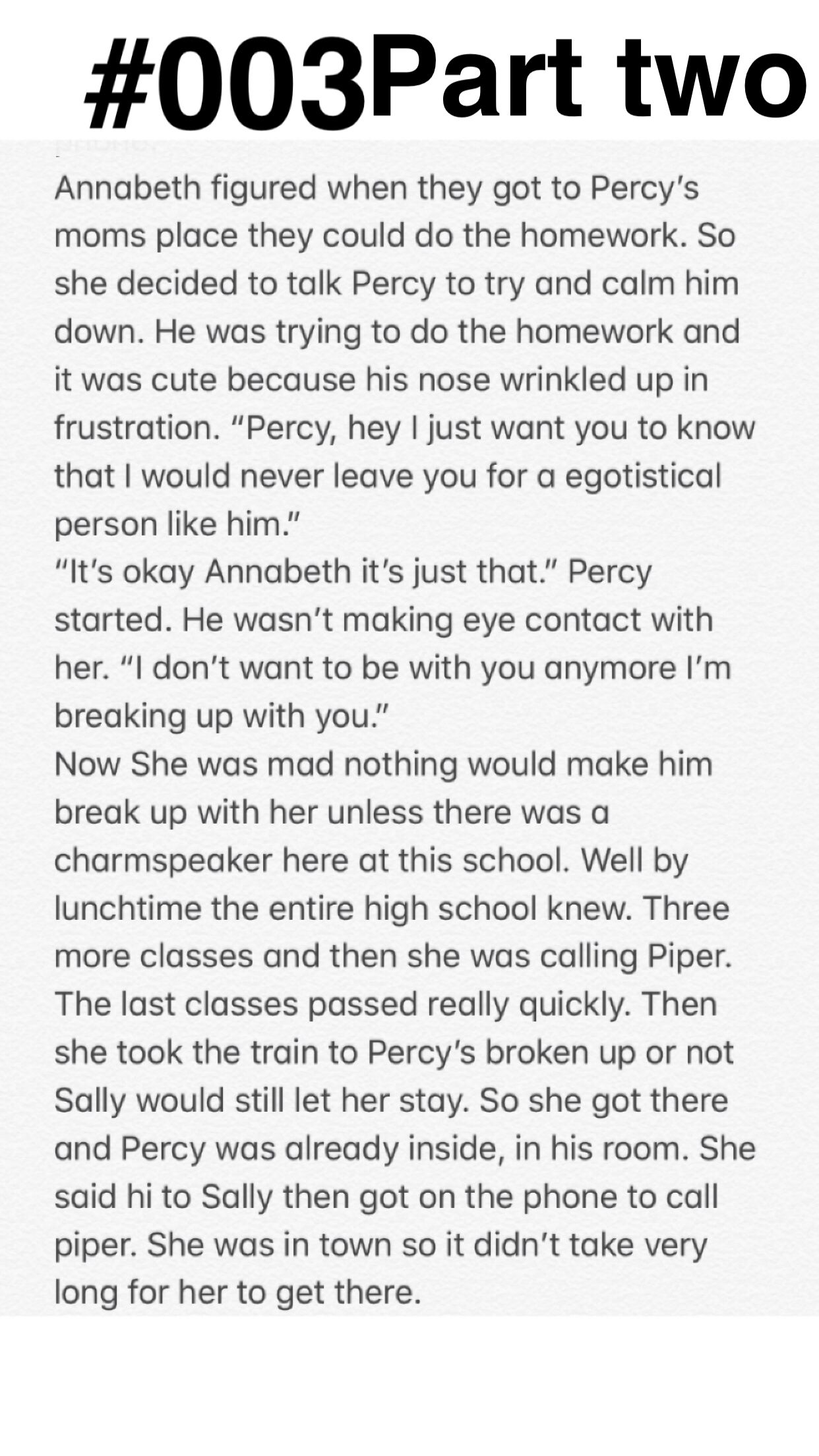 The Seven Find Out Percy Was Abused Fanfiction
