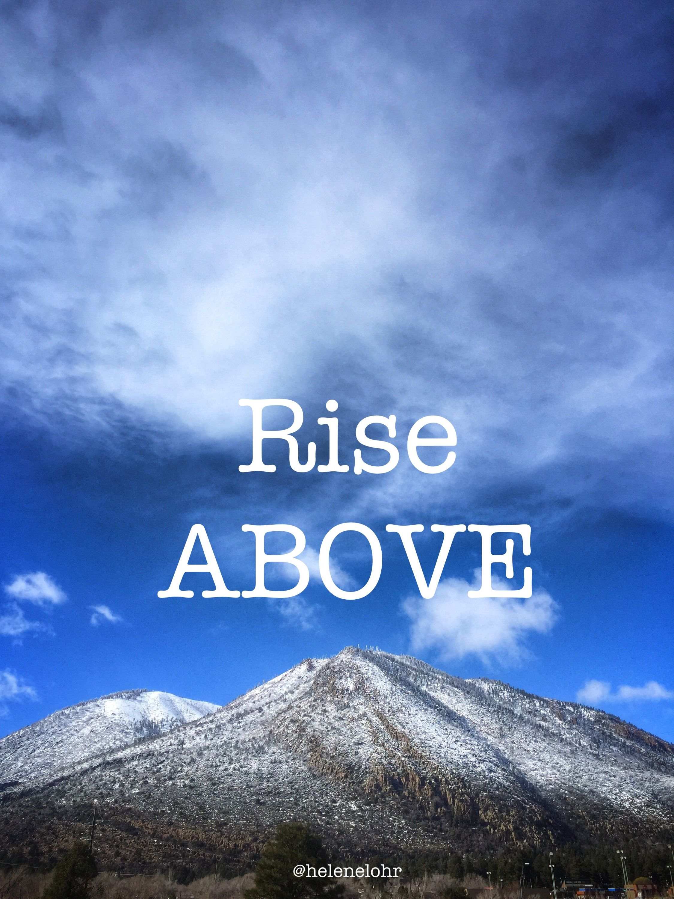 Rise:  Affirmations for Personal Growth