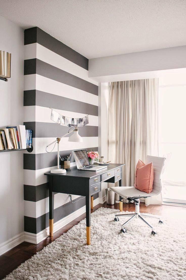 Bureau à domicile moderne- aménagement et décoration   Bureau ...