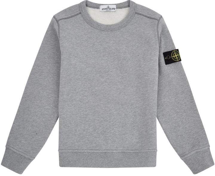 Stone Island Junior Crew Neck Sweatshirt Products In 2018 Stone