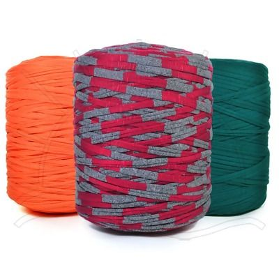 Fio de malha 1kg composio 100 resduos txteis todas as cores tric fandeluxe Choice Image