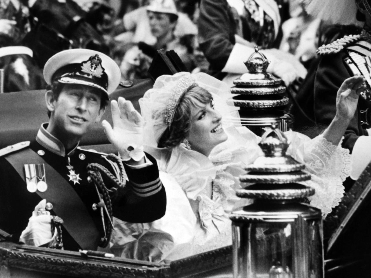 Princess Diana A photo album Princess diana wedding