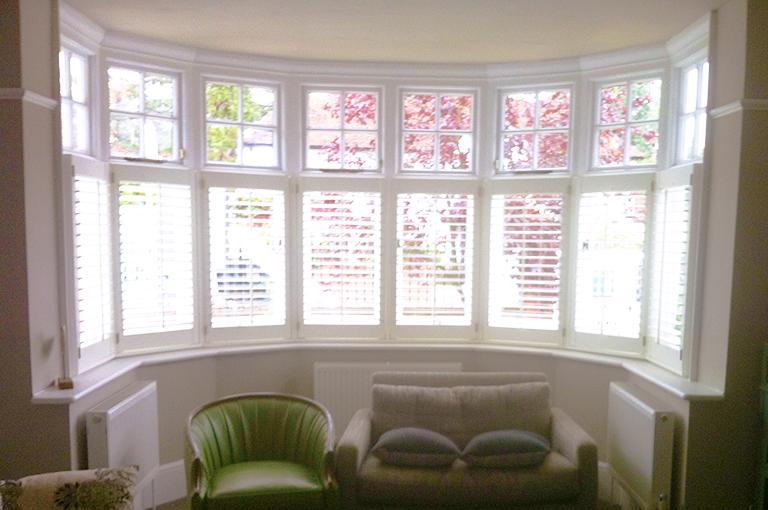 Shutters For Bay Windows By Plantationshutters London Uk Ideas Pinterest Cafe Style