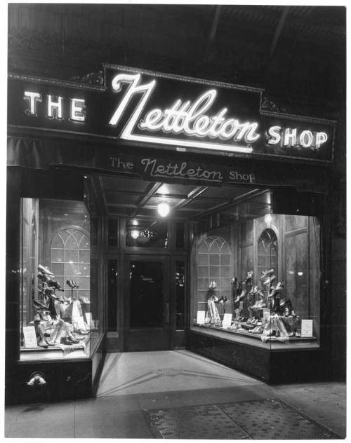 Nettleton Shoe Shop, Los Angeles.