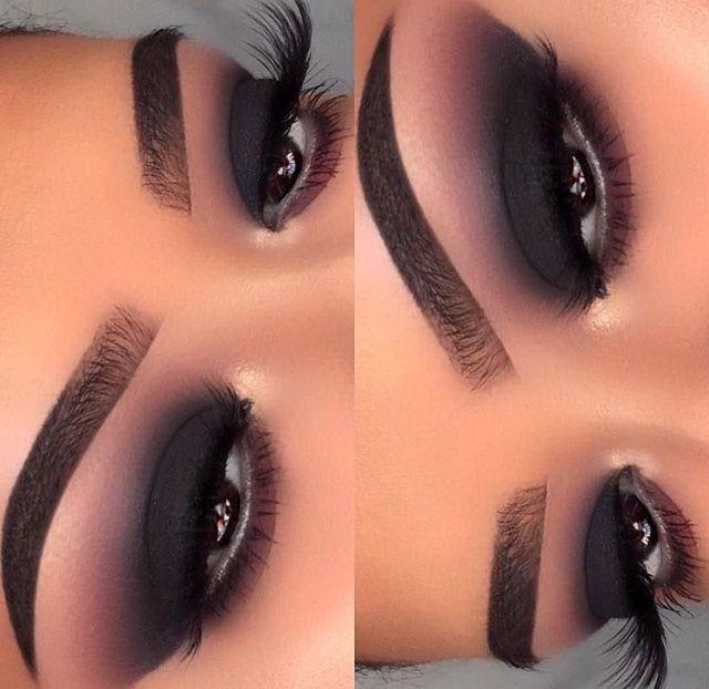 Pin de Olga Patricia en Maquillaje ojos ahumados Pinterest