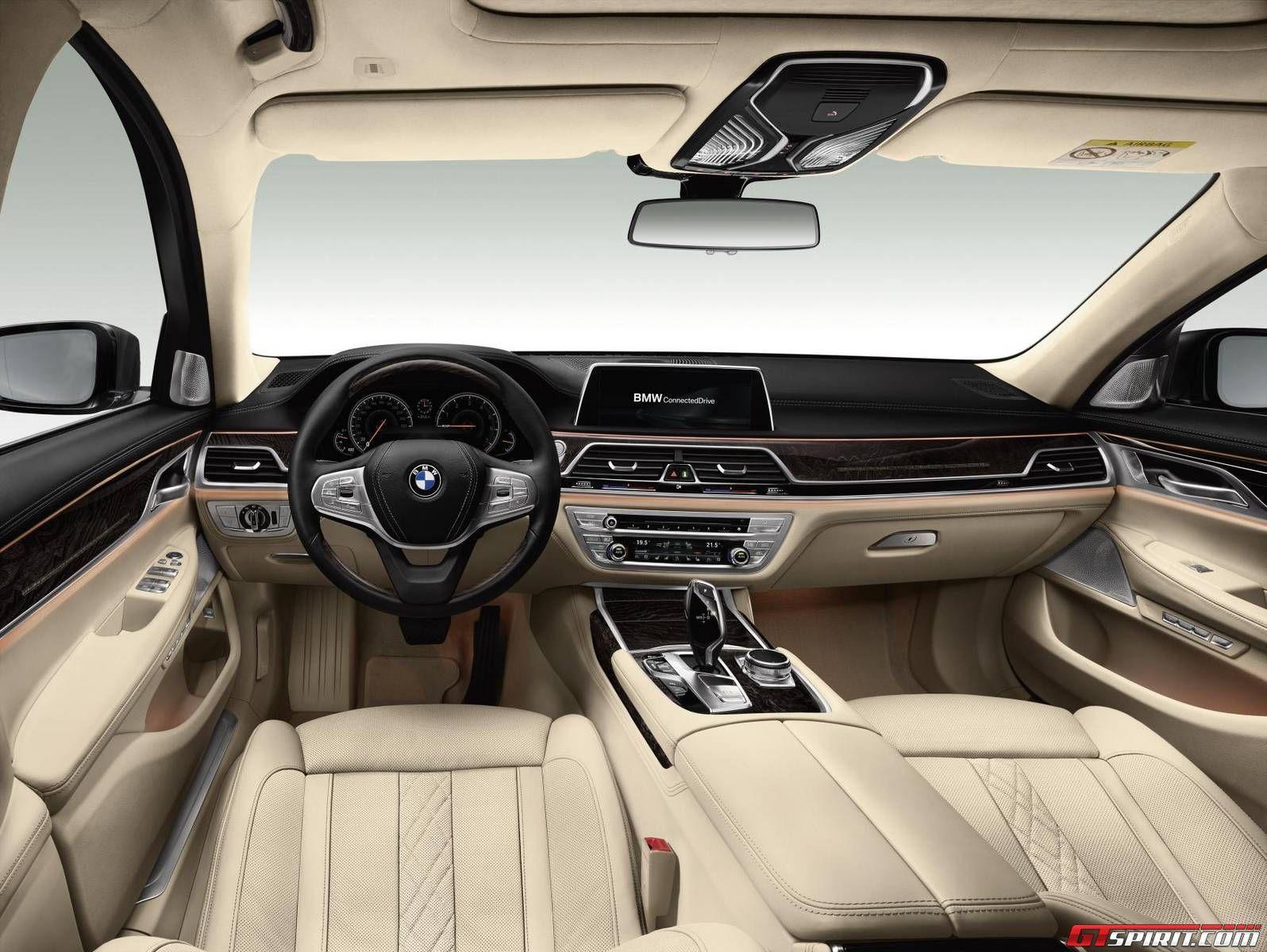 2017 Bmw 7 Series Interior