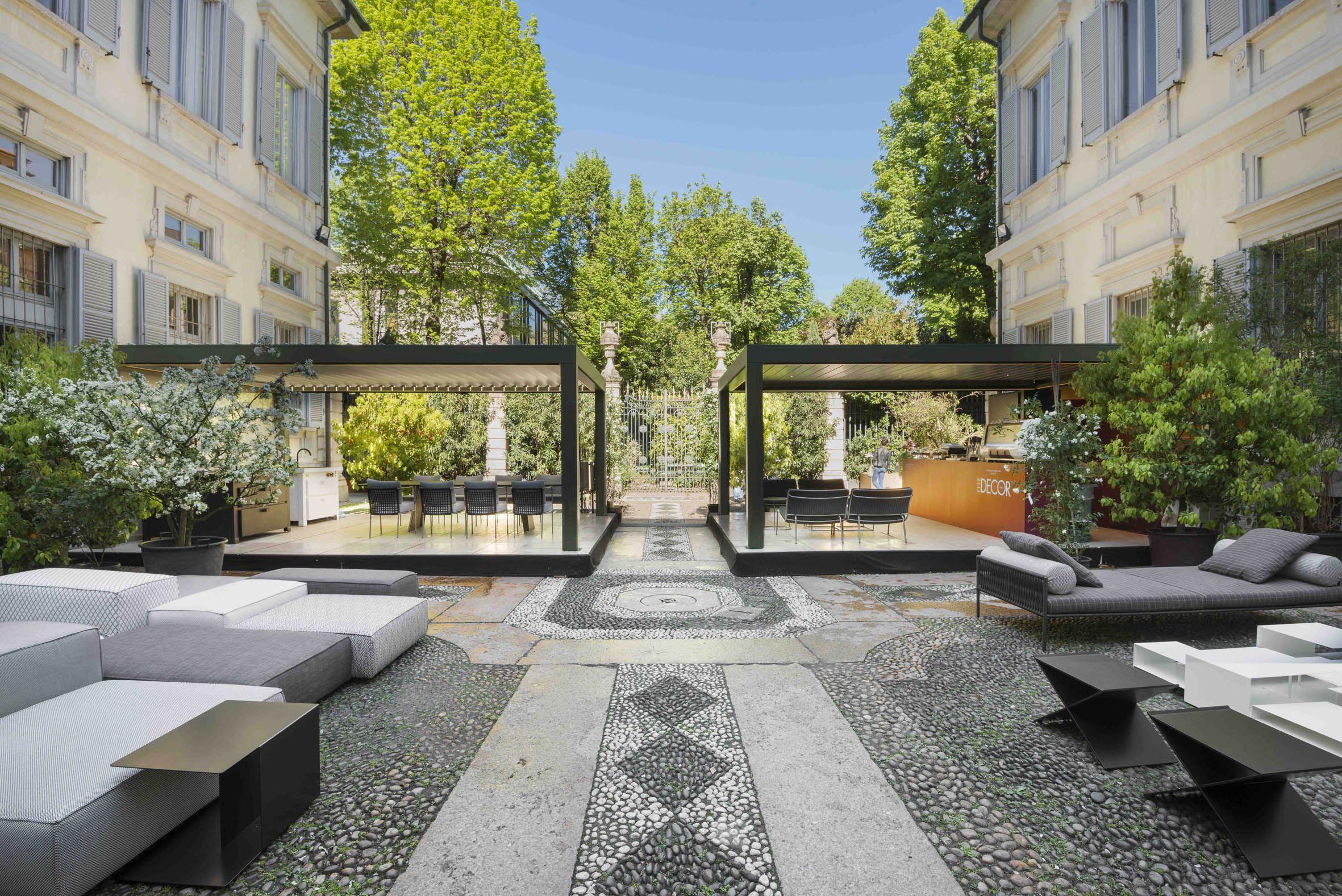 Home garden furniture  Soft Home outdoor Palazzo Bovara  MODERN GARDEN  Pinterest