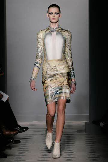 """Latex Print  Balenciaga Fall 09"""""""