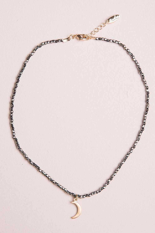 Brandy  Melville  Crescent Moon Bead Choker  Accessories  Brandy  Melville  Crescent Moon Bead Choker  Accessories