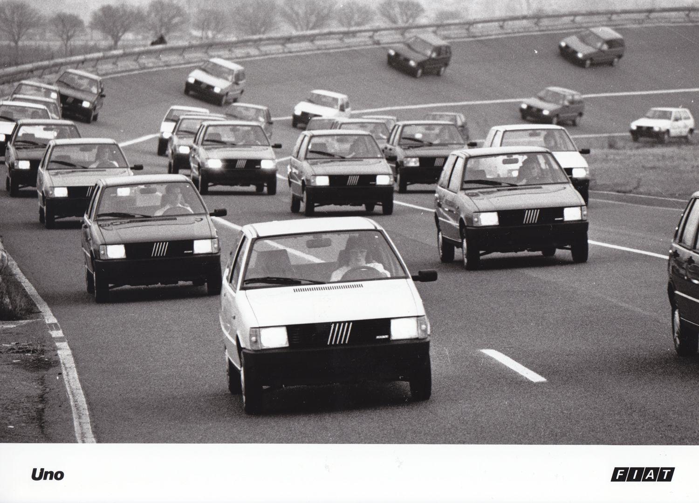 fiat uno (1983) | car factory press photos | pinterest | fiat uno