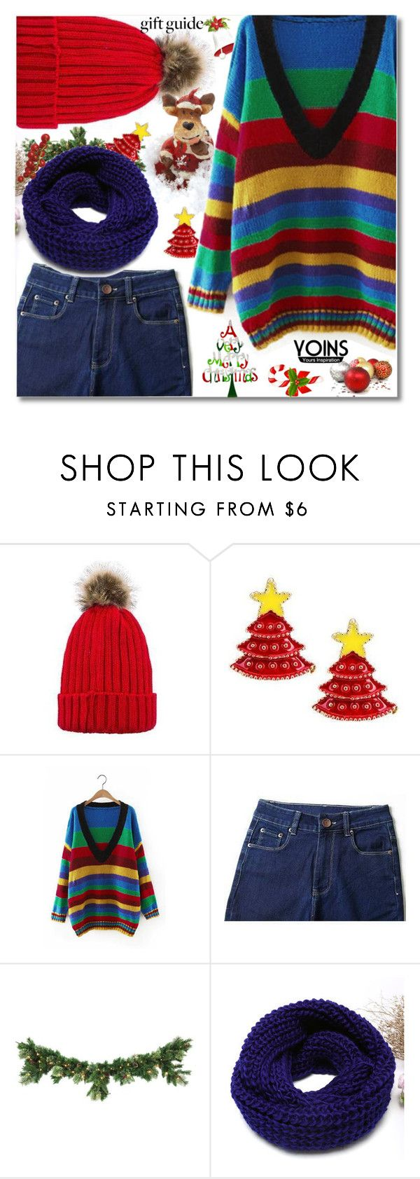 """""""14. Yoins"""" by andrea2andare ❤ liked on Polyvore"""