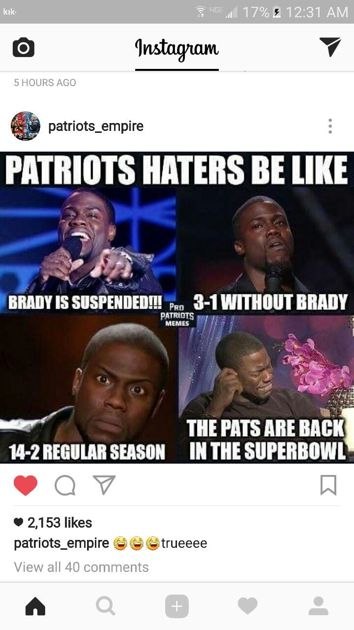 Nfl Patriot Haters Have Arrived Meme Wwwmiifotoscom