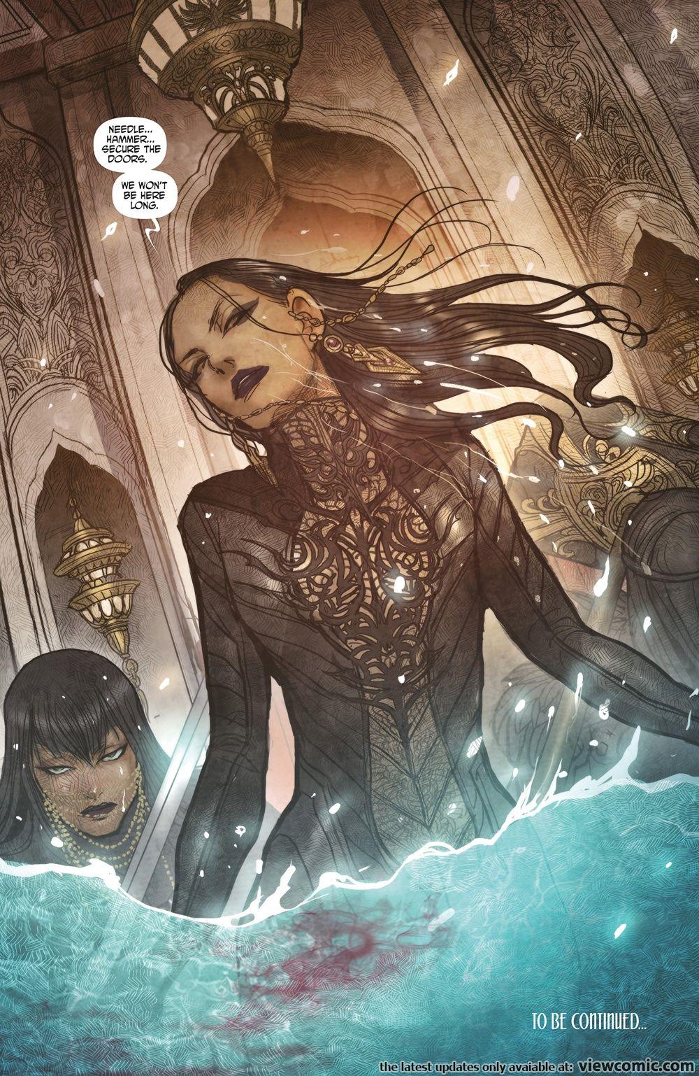 Monstress 013 (2018) ……………………………… | Viewcomic reading comics