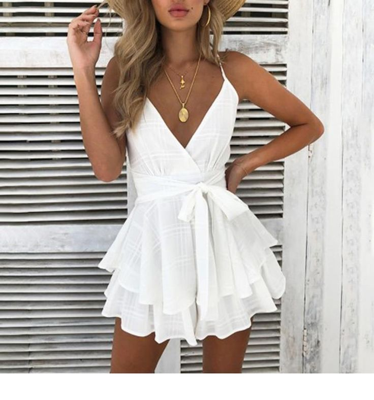 Photo of Chic Boho Backless Ruffle Romper – #Backless #Boho #chic #Romper #Ruffle