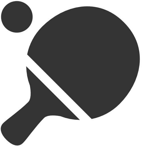 Ping Pong Icon Icon Search Engine Iconfinder Pingue Pongue Silhueta