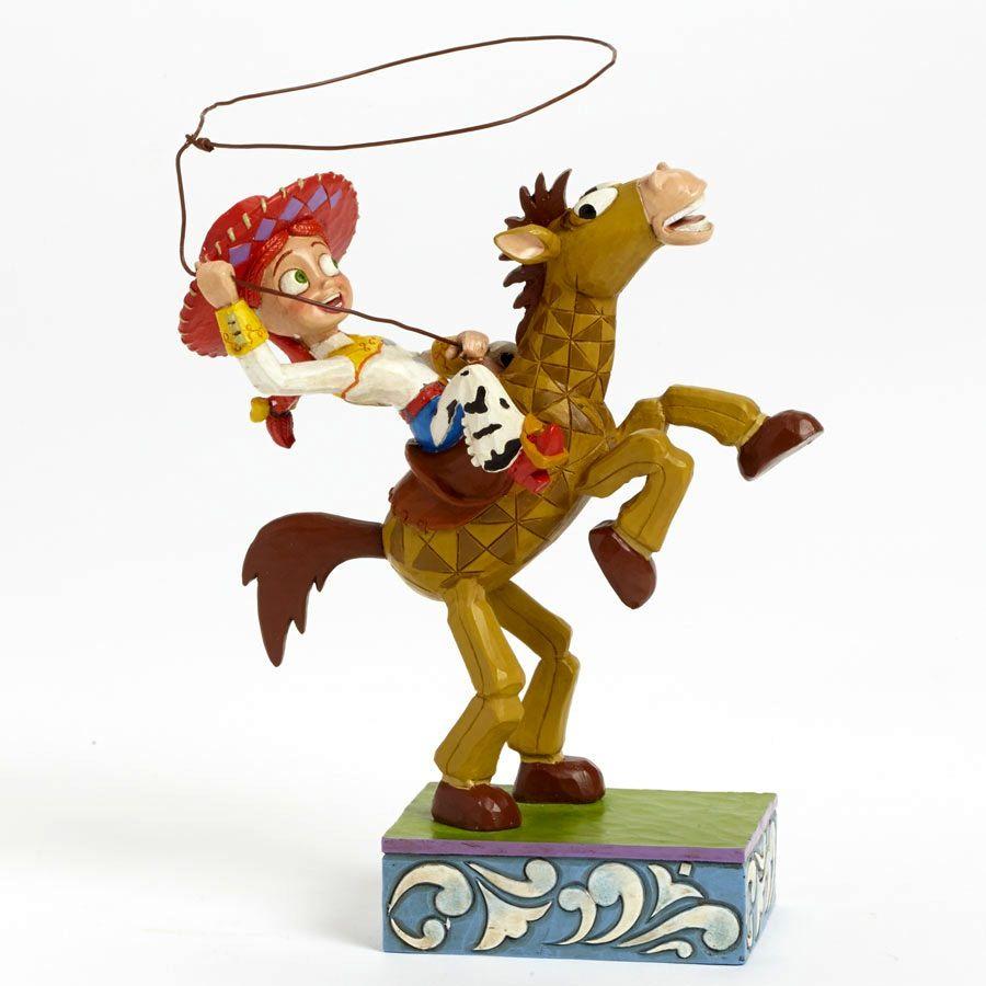 JESSIE & BULLSEYE FIGURINE (Jim Shore Disney Traditions) ToyStory