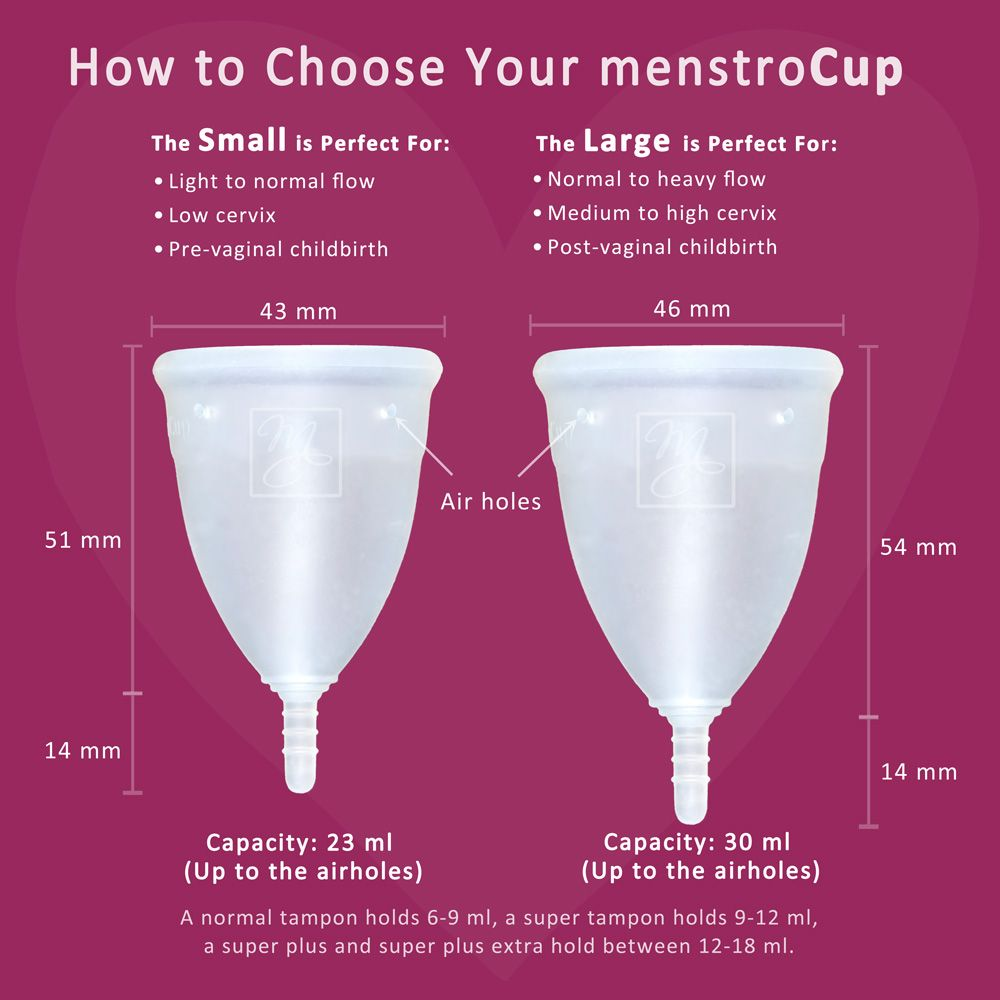 ֍ Menstrual cup quick guide for beginners how to choose