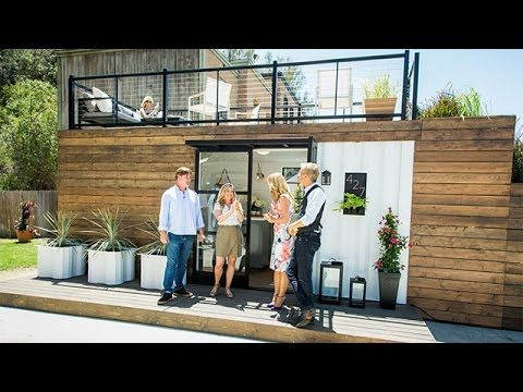 Designer Kelly Edwards Teams Up With Contractor Art Steedle To Talk About The  Benefits Of Container Homes.