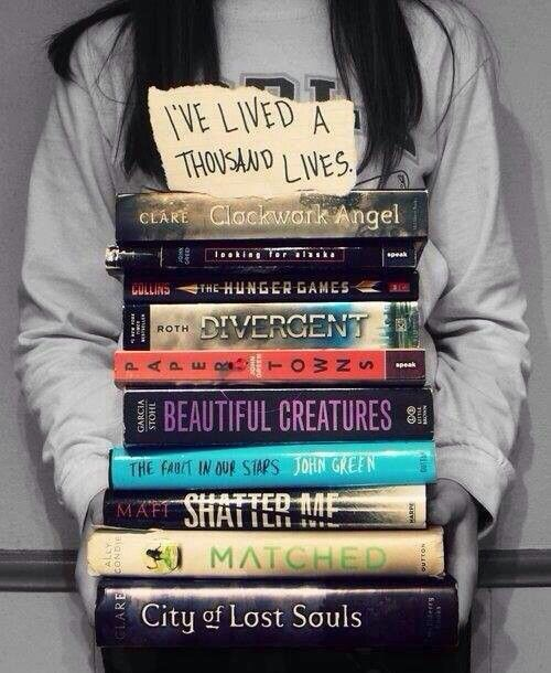 Im proud to say i've read every single one of those books ;)