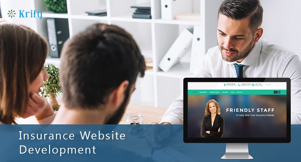 Insurance Website Development And Its Features Website Development Development Insurance Website