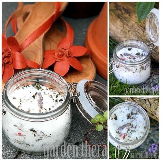 22 Perfect DIY Gifts For Your Moms - Herbal Foot Soak