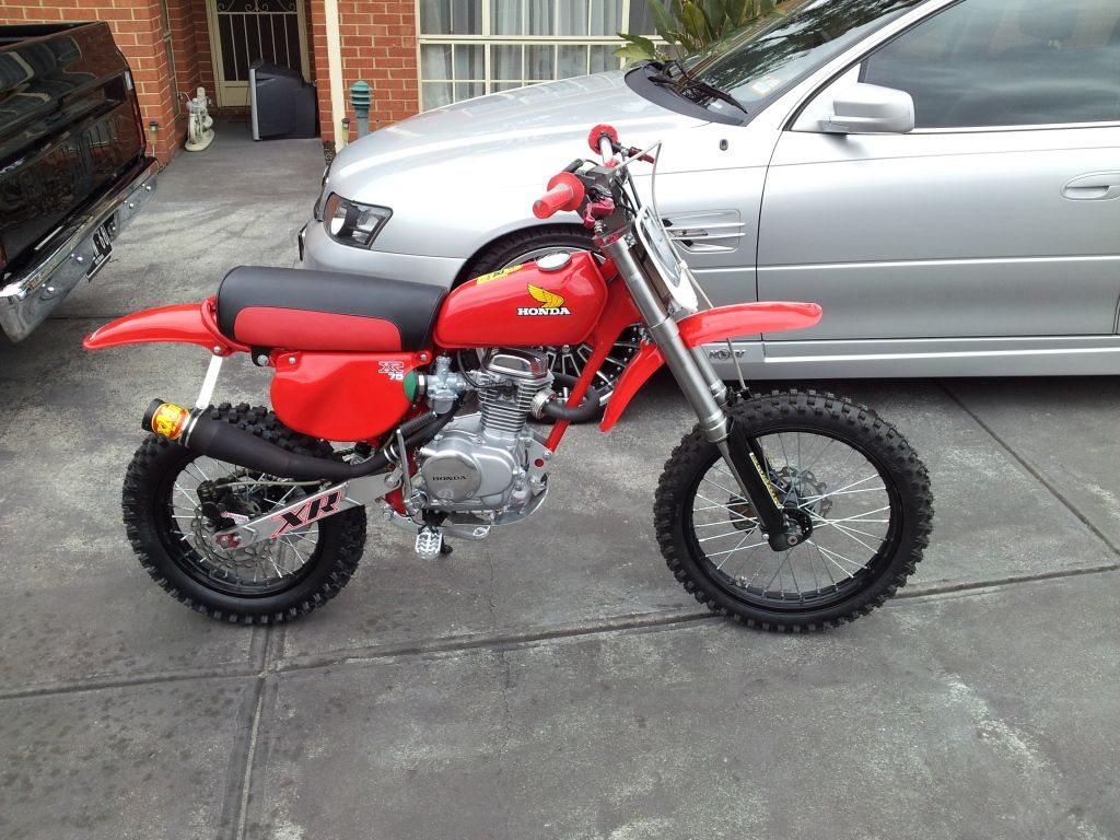 Man Cave Storage Xr : Honda xr images reverse search