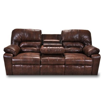Best 91 Inch Brown Upholstered Reclining Sofa Reclining Sofa 400 x 300