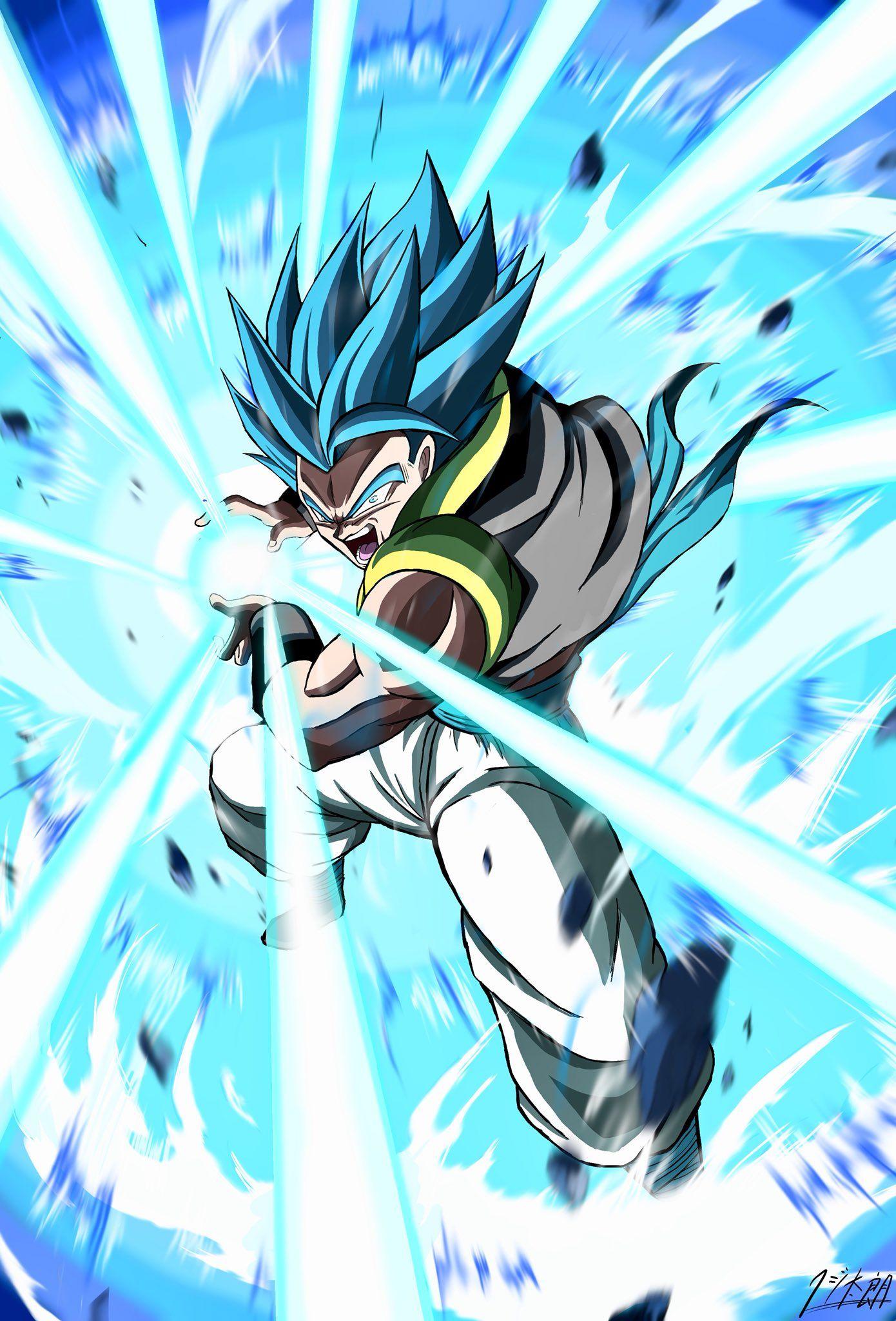Gogeta Ssgss Anime Dragon Ball Super Dragon Ball Super Manga Dragon Ball Image