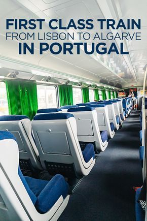 First Class Train Experience from Lisbon to Albufeira (Algarve Region) in Portugal